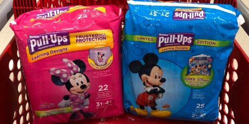 Huggies Pull-Ups Training Pants Just $1.99 Each After Target Gift Card