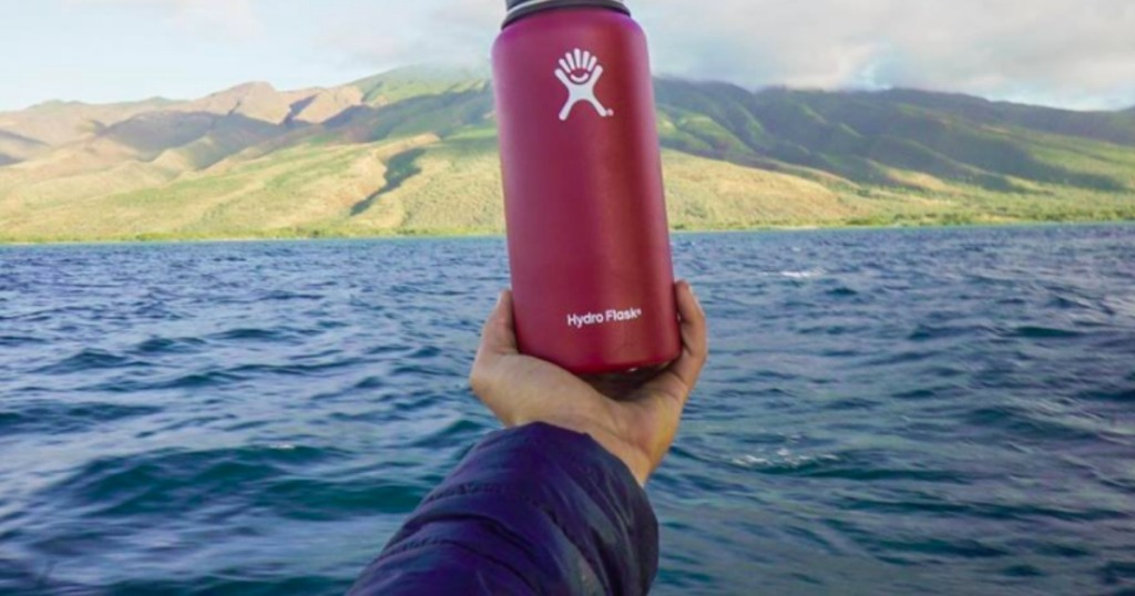 74caff1cdf As just one idea, snag this Hydro Flask Wide-Mouth 32oz Vacuum Water Bottle  in mint or flamingo for only $20.94 (regularly $39.95) after the automatic  ...