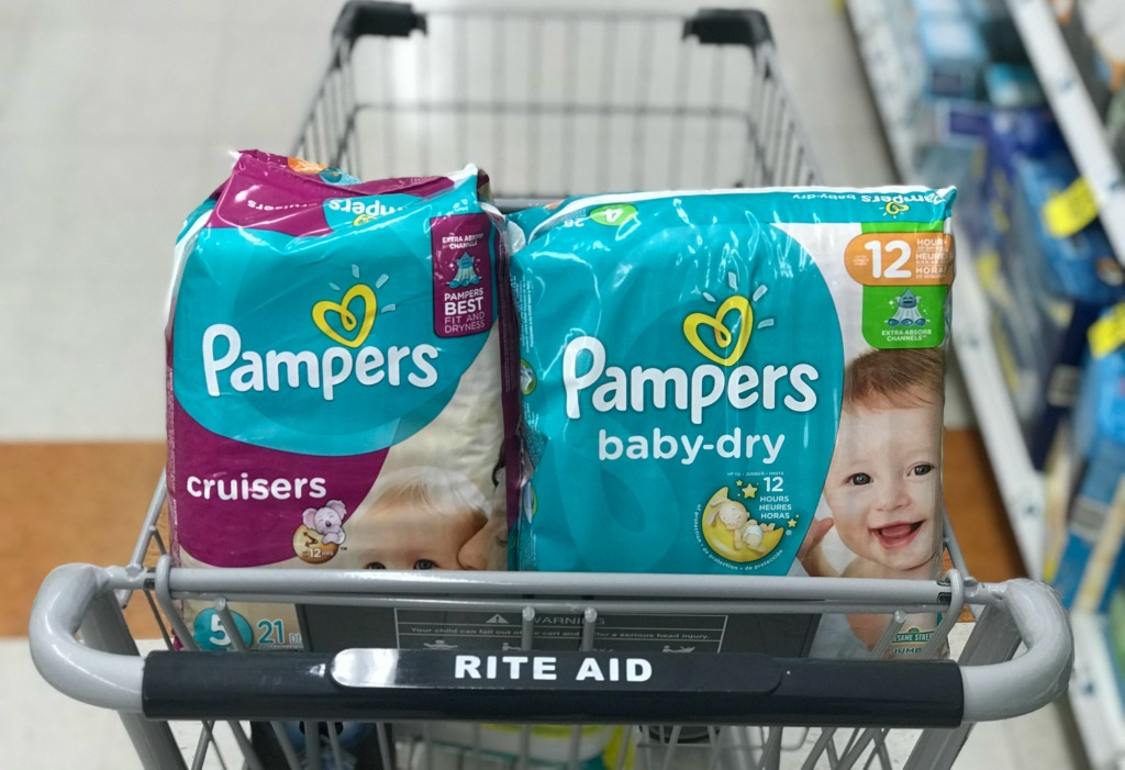 Rite Aid Pampers Diapers