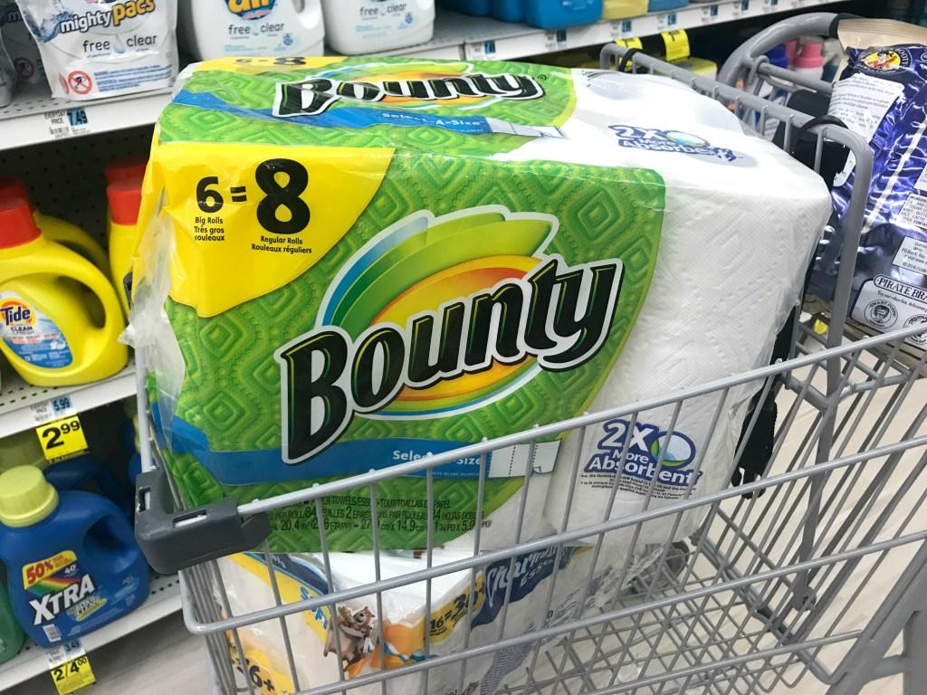 Rite Aid Bounty Charmin