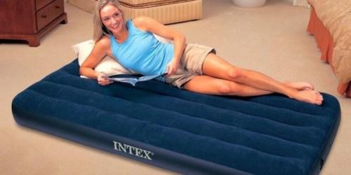 Intex Twin Inflatable Air Mattress Just $7.97 at Walmart (Regularly $16)