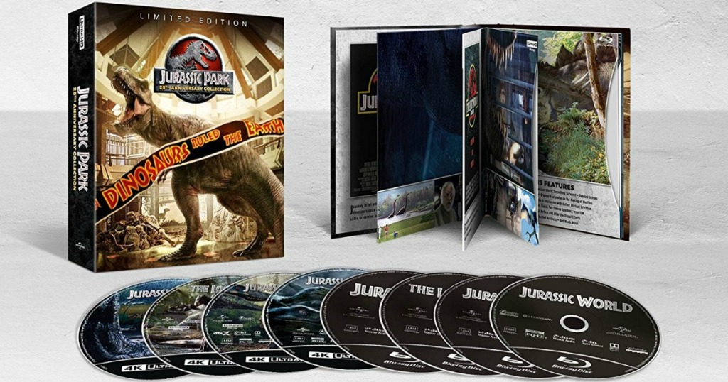 Jurassic Park Anniversary Collection 4K