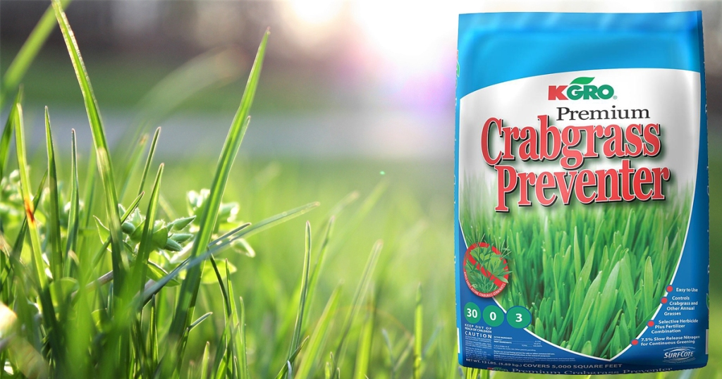 Kmart 50 Off Kgro Premium Crabgrass Preventer Free Store Pick Up