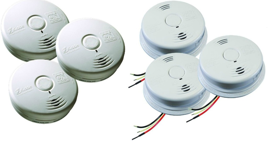Kidde Battery Operated Smoke Alarms 3 Pack Only 48 98 Shipped