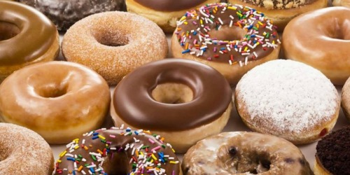 Krispy Kreme DOUBLE Dozen Doughnuts Just $13 on May 24th