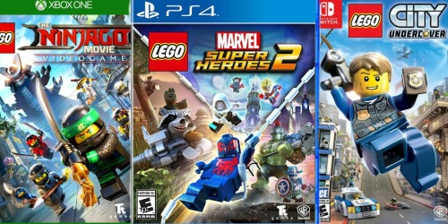 Best Buy: Popular LEGO Video Games Just $19.99 (Regularly $50)