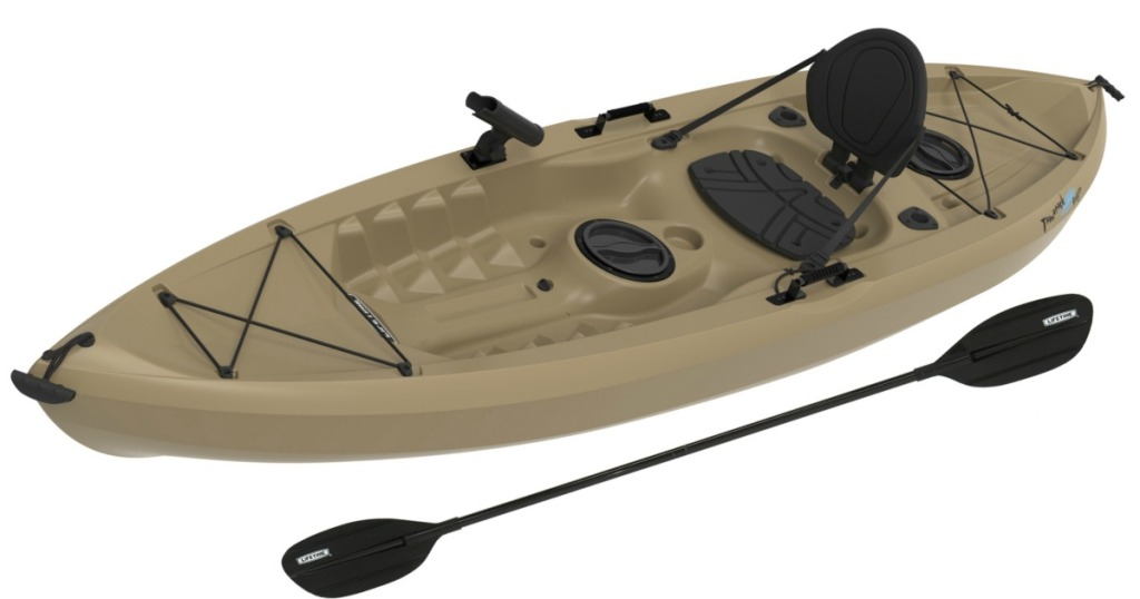 Tamarack 10' Angler Kayak w/ Bonus Paddle Only $220