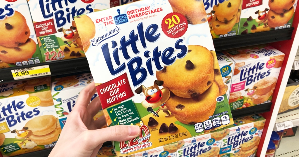 Head On Over To Coupons And Print A New Coupon Save 050 1 Entenmanns Little Bites Muffins Valid For 30 Days After Printing