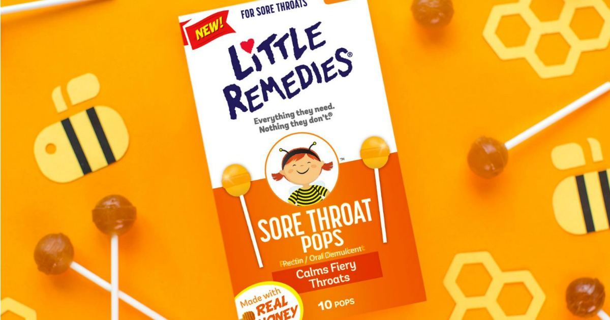 Amazon: Little Remedies Sore Throat Pops Only $1.89 ...