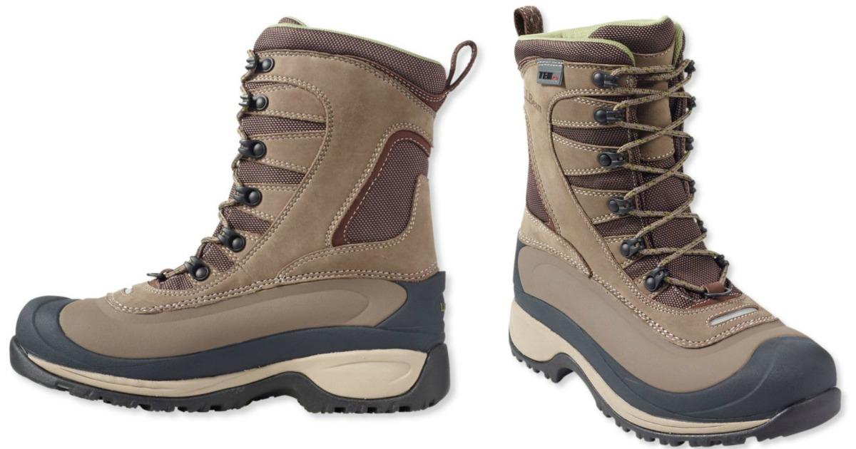 L.L.Bean Womens Waterproof Boots Just