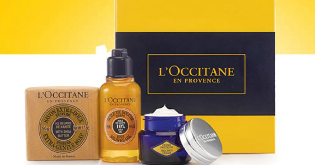 FREE LOccitane Beauty Essentials Gift Set 21 Value No Purchase Required In Store