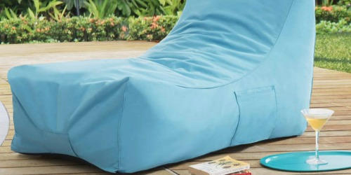 Refresh Your Patio at Big Lots (Nice Buys on Chair Cushions, Pillows, Lounger Poufs & More)