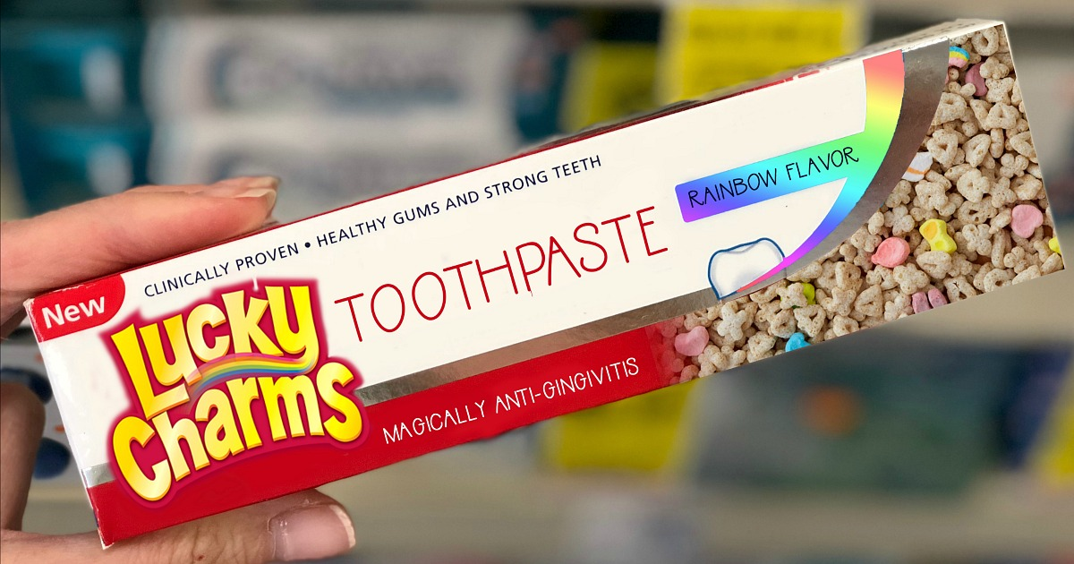 lucky charms toothpaste box hip2save