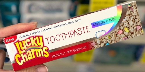Lucky Charms Toothpaste ONLY 99¢ at Walgreens After Rewards