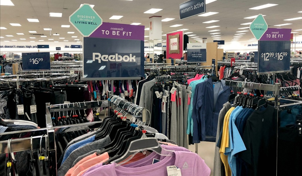 activewear at marshalls with designer brands and budget prices
