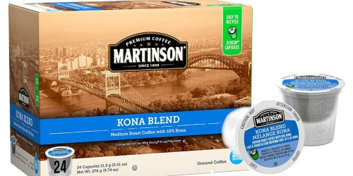 Amazon: Martinson Coffee K-Cup 24 Count Just $6.72 Shipped (28¢ Per K-Cup)