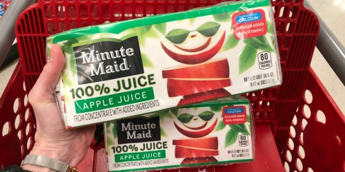 New $1/1 Minute Maid Juice Box Coupon