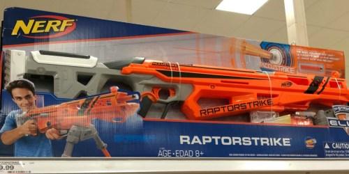 Walmart: NERF N-Strike Elite Accustrike Raptorstrike Only $19.99 (Regularly $50)