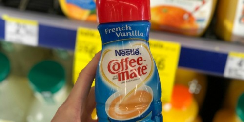 Coffee-Mate Liquid Creamer 6-Pack Only $6.93 Shipped on Amazon (Just $1.15 Each)