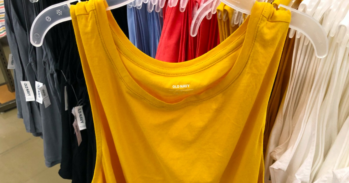 Old Navy Girls and Womens Tanks ONLY $2 (In-Store & Online – Today Only)