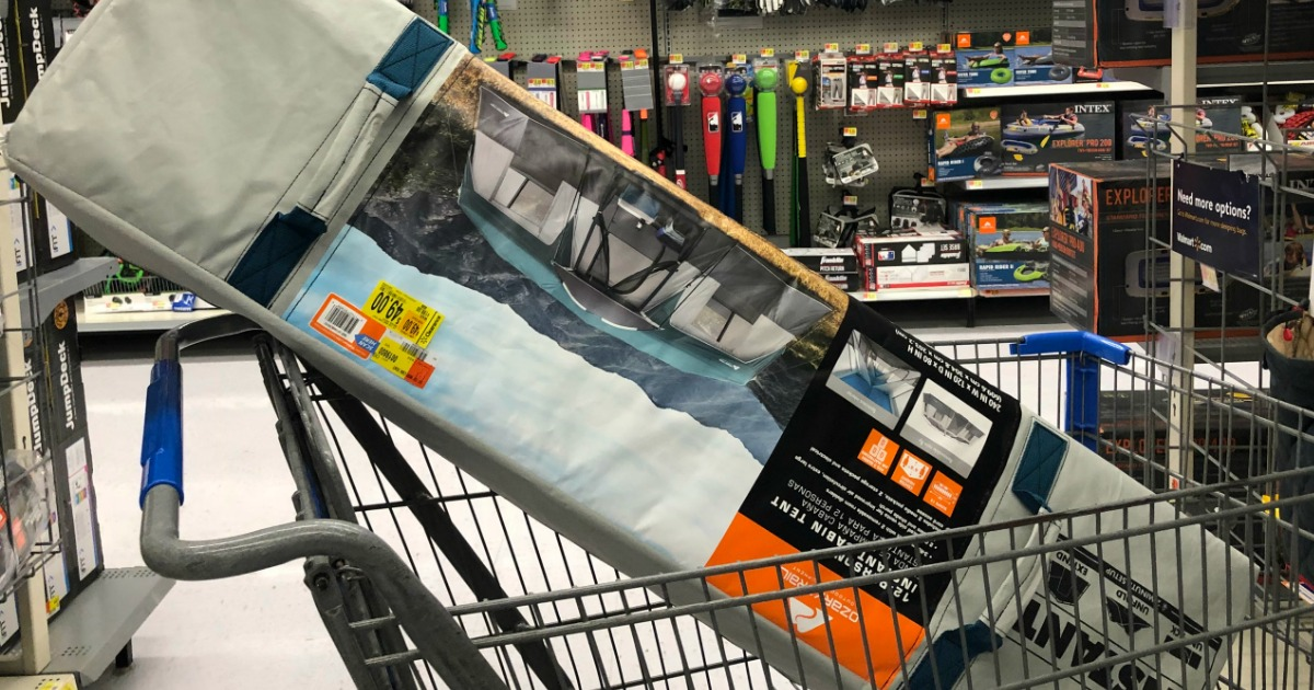 Walmart Clearance Find: Ozark Trail Instant Cabin Tent ONLY $49