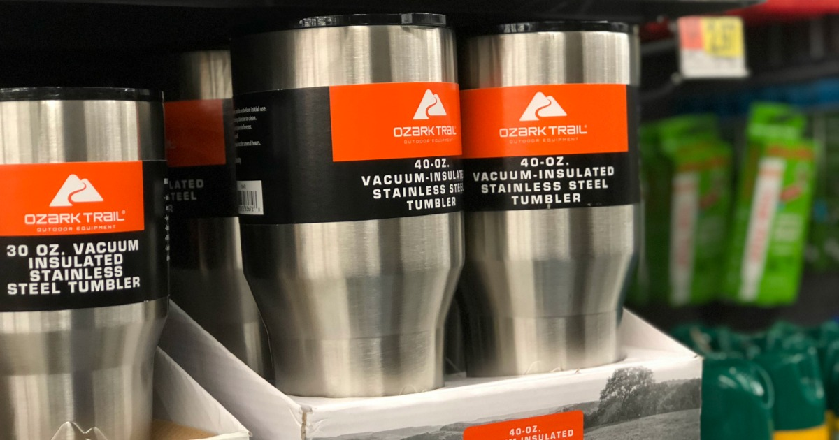 Vacuum Insulated Tumbler Stainless Steel 40 Oz