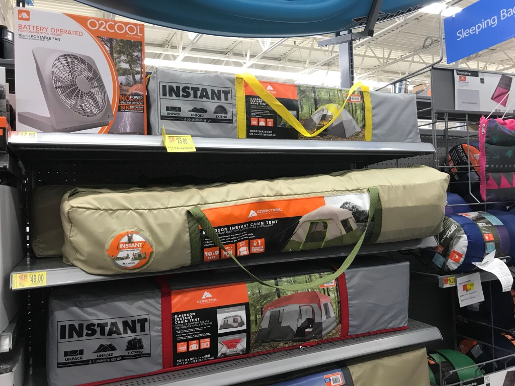 Possibly Over 50% Off Camping Gear at Walmart (Chairs, Sleeping Bags