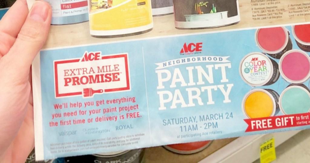 Ace Hardware Paint Sale