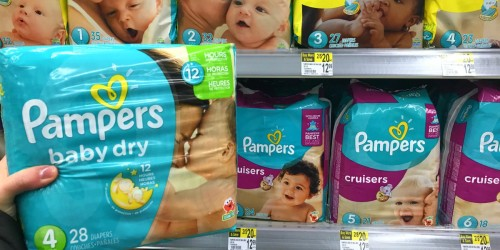 Pampers Jumbo Packs Only $3.50 Shipped After Walgreens Rewards