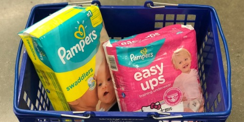 4 Pampers Diaper Packs + 3 Johnson's Baby Oil Only $26.43 Shipped After Walgreens Rewards