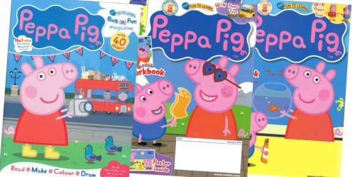 Peppa Pig Magazine Subscription Only $12.49