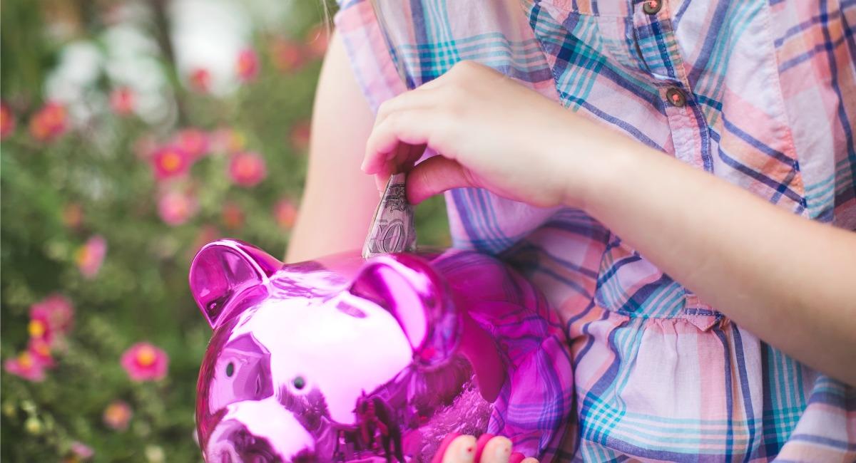 put saved money in high interest accounts