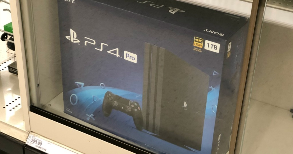 Sony-PlayStation-4-Pro-1TB-Gaming-Console-Wireless-Game-Pad-Black