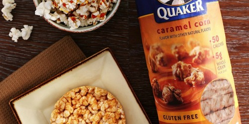 Amazon Prime: Quaker Gluten Free Rice Cakes 6 Count Variety Pack ONLY $10 Shipped