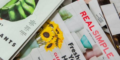 FREE Real Simple Magazine 1-Year Subscription