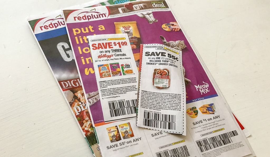 coupons from red plum insert