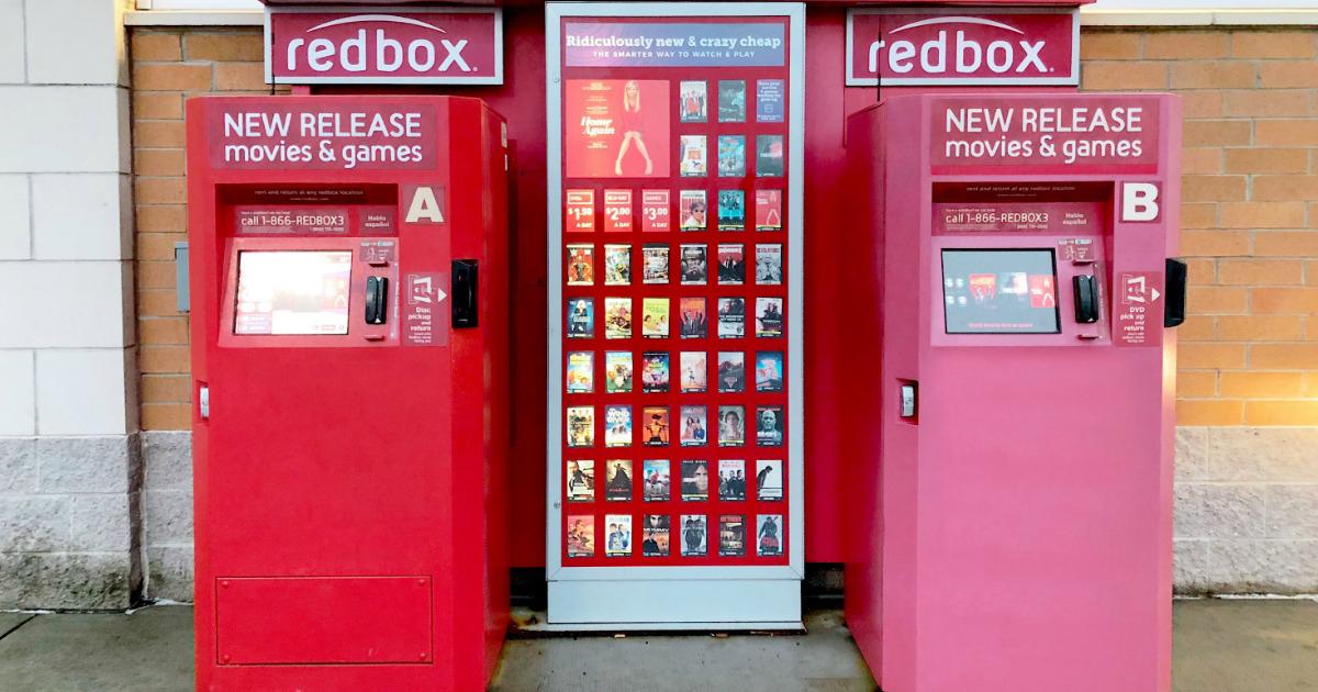 Redbox kiosks