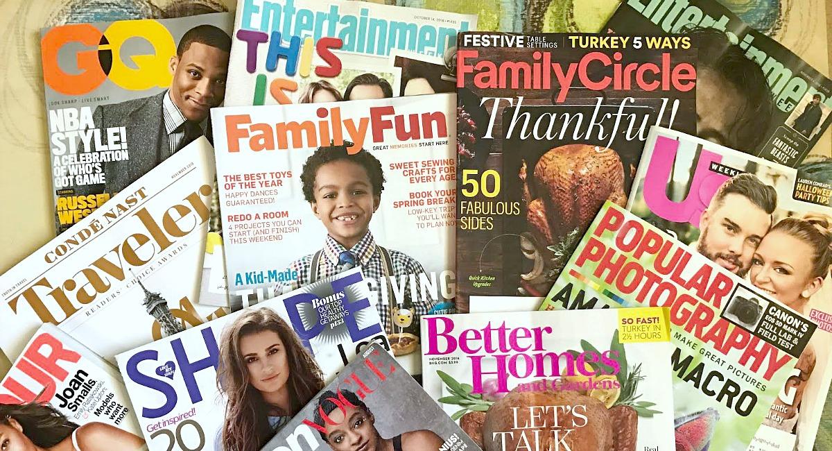 save on magazine subscriptions