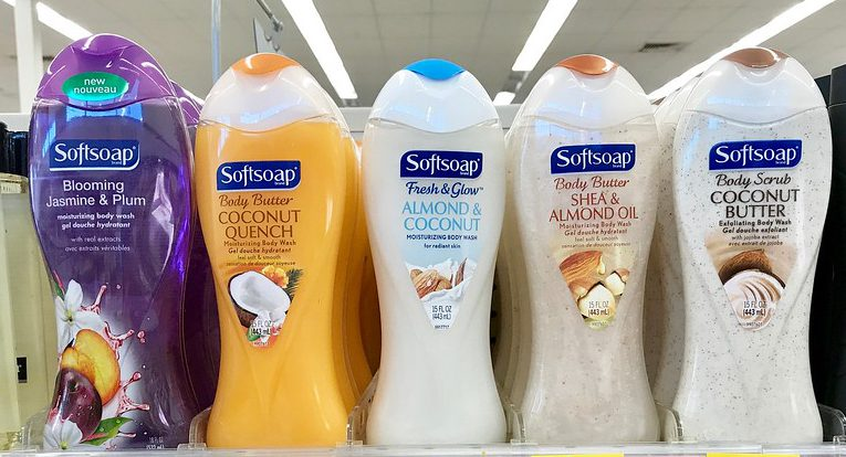 photograph relating to Softsoap Printable Coupon named Softsoap Physique Clean Exactly 74¢ Each individual Once Walgreens Benefits