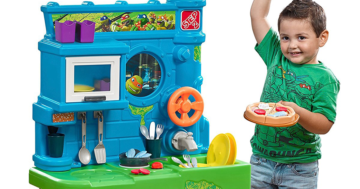 Step2 Ninja Turtle Pizza Kitchen And Accessories Only 59 99 Shipped Regularly 91 Hip2save