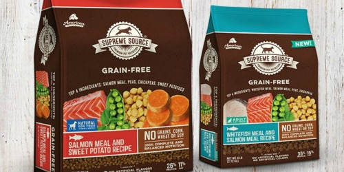 FREE Supreme Source Dog or Cat Food Coupon ($9.99 Value)