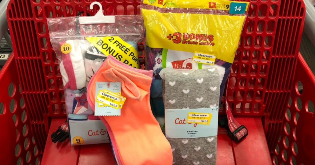 0b241291aeda Head into Target where you may spot girls socks, tights, and underwear on  clearance for up to 70% off! These would make great Easter basket fillers  or just ...
