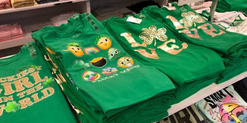 The Children's Place St. Patrick's Day Tees as Low as $2.99 Shipped