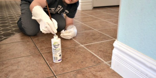 Got Dingy Grout? Here's How to Refresh Your Tile Grout for Under $14!
