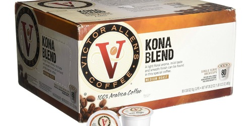 Amazon: Victor Allen 80 Count K-Cups Just $18.99 Shipped (Only 24¢ Per K-Cup)