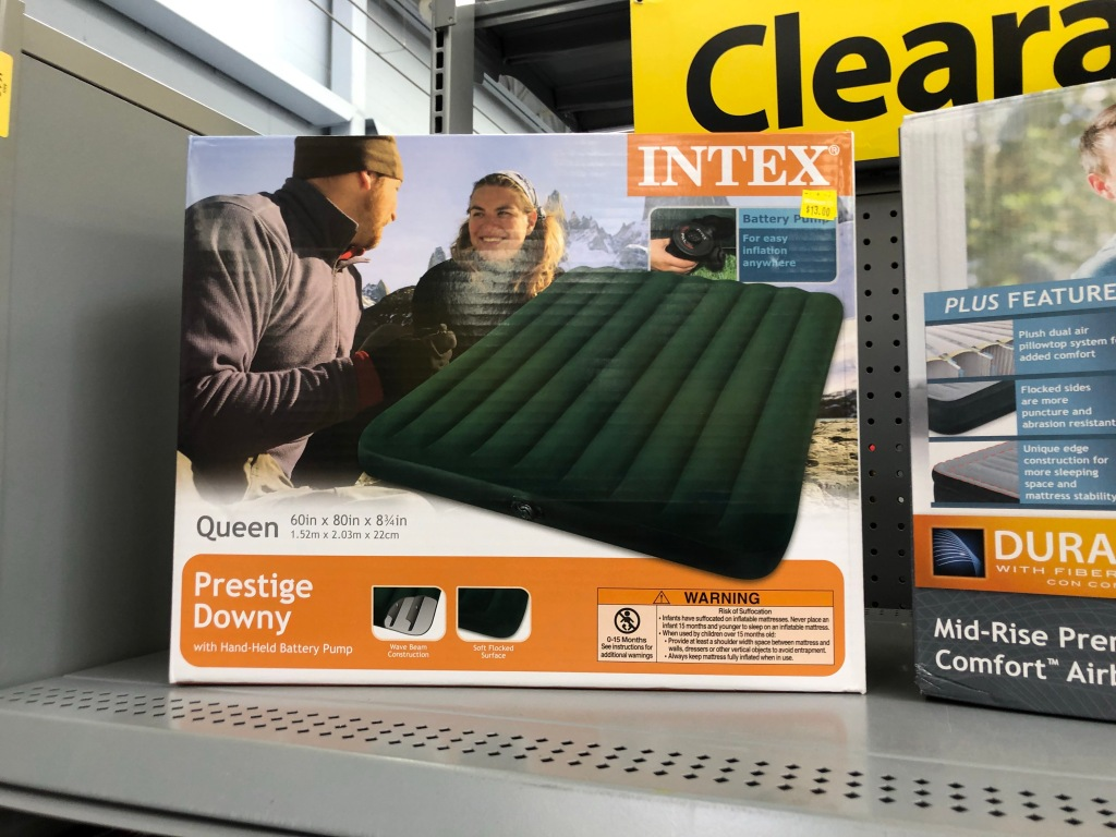 Walmart Clearance Finds Intex Twin Air Bed Only 21