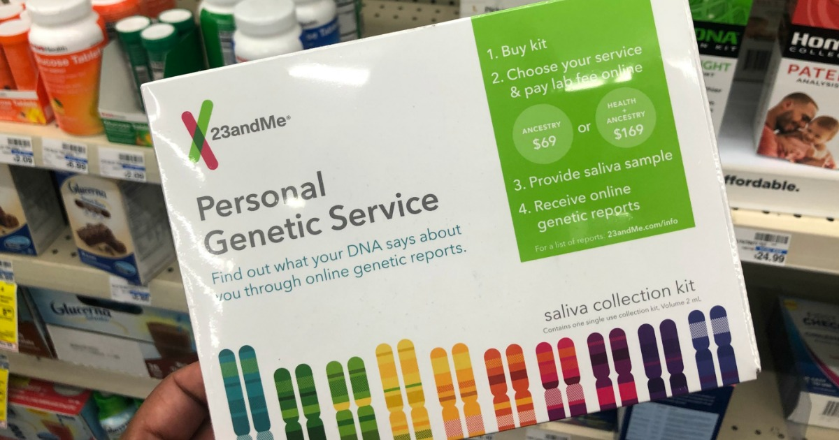 23andme personal genetic kit
