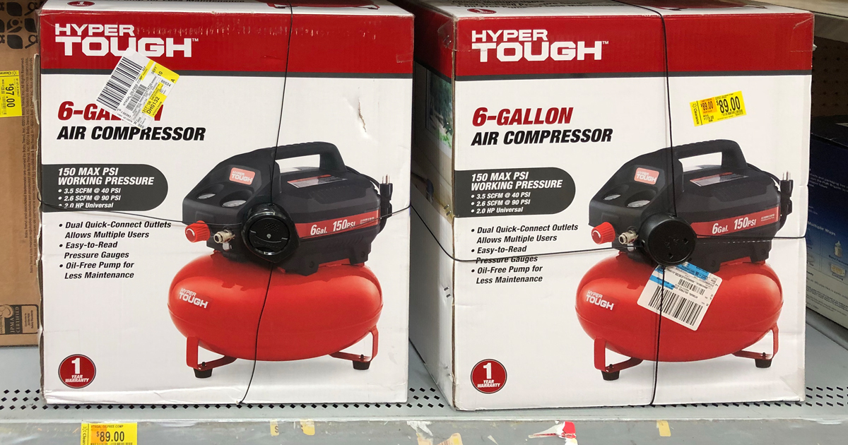 Hyper Tough Air Compressor Possibly Only 30 At Walmart