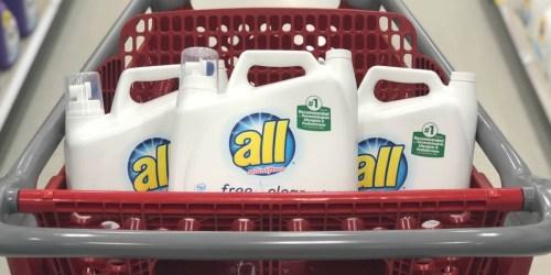 All Laundry Detergent Only $5.66 per HUGE Bottle After Target Gift Card
