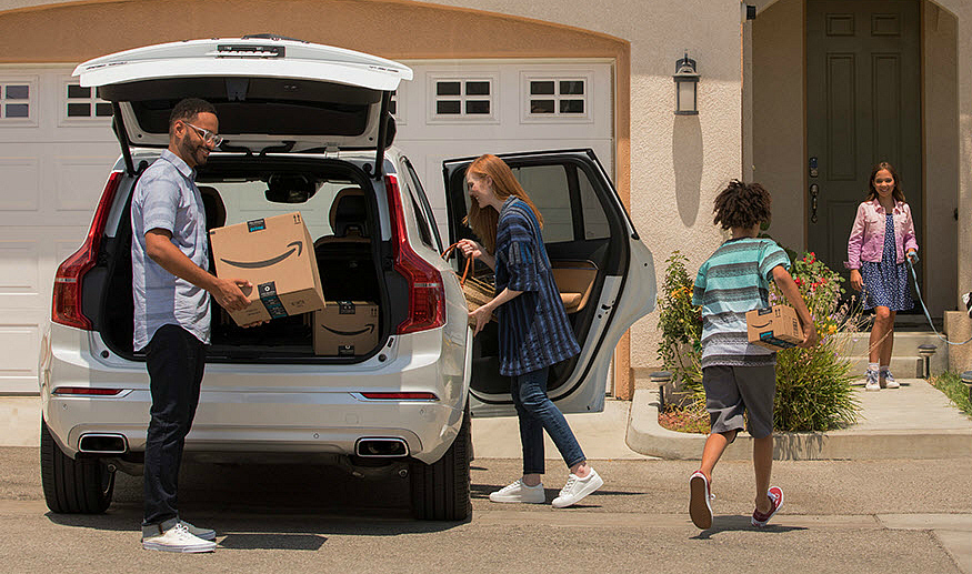 Now Amazon Primer shoppers can have their packages left safely inside their cars.